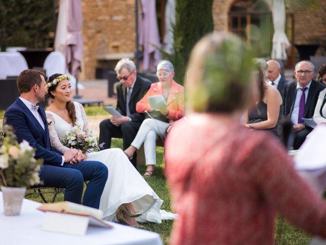 Le mariage de Nicolas et Anne-Sophie à Lacenas, Rhône 35