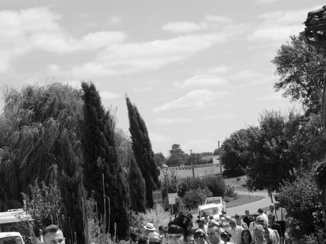 Le mariage de Jeremy et Alexandra à Birac, Charente 25