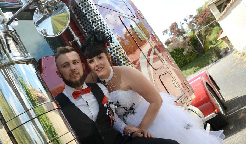 Le mariage de Jeremy et Alexandra à Birac, Charente