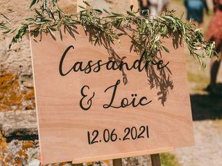 Le mariage de Cassandre et Loic 1
