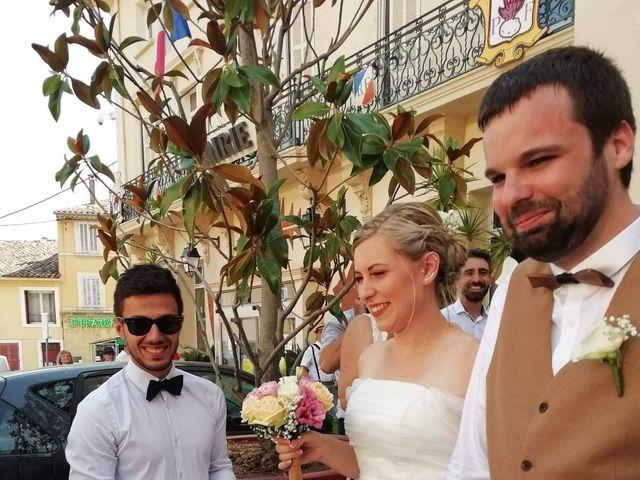 Le mariage de Pierre et Manon à Pierrefeu-du-Var, Var 5