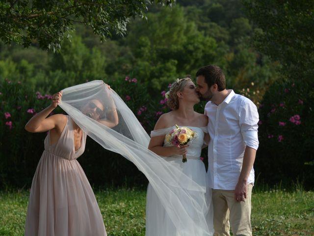 Le mariage de Pierre et Manon à Pierrefeu-du-Var, Var 11