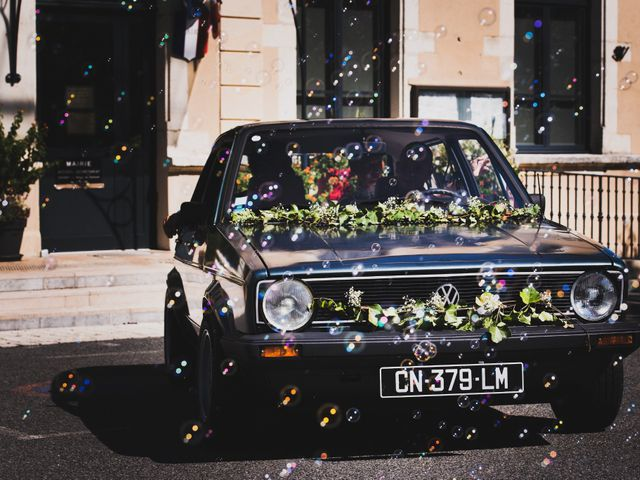 Le mariage de Thibault et Marion à Saint-Romain-de-Popey, Rhône 8