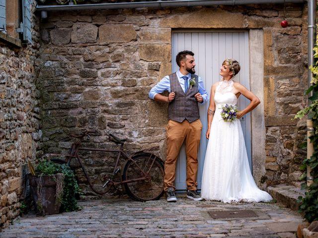 Le mariage de Thibault et Marion à Saint-Romain-de-Popey, Rhône 20