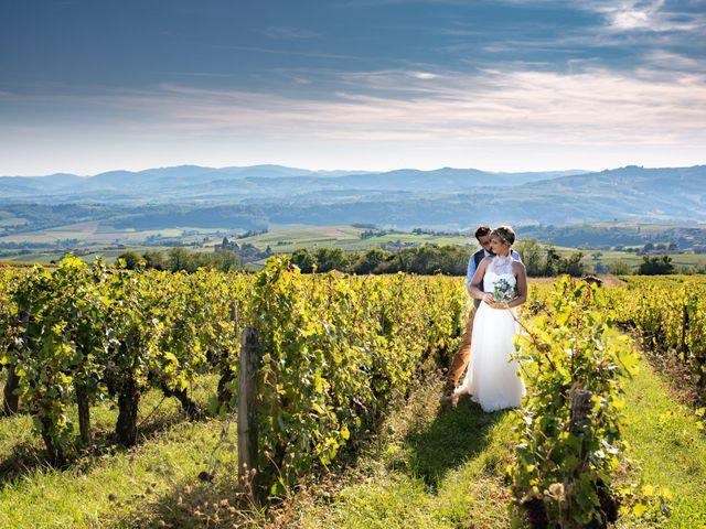 Le mariage de Thibault et Marion à Saint-Romain-de-Popey, Rhône 29