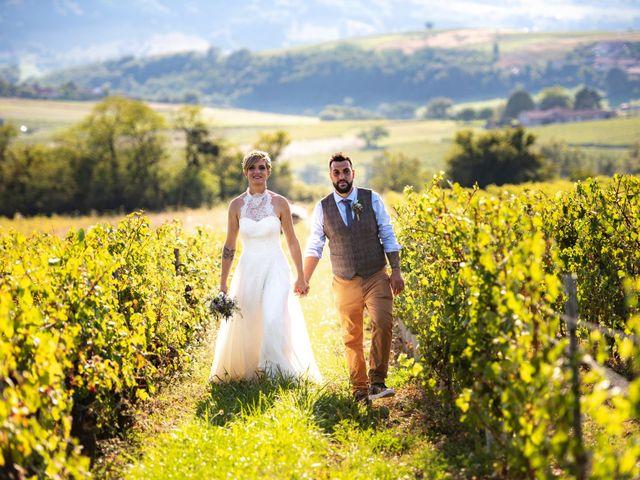 Le mariage de Thibault et Marion à Saint-Romain-de-Popey, Rhône 32