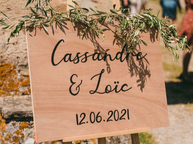 Le mariage de Loic et Cassandre à Véranne, Loire 1