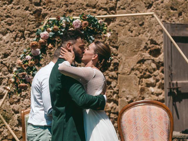 Le mariage de Loic et Cassandre à Véranne, Loire 5