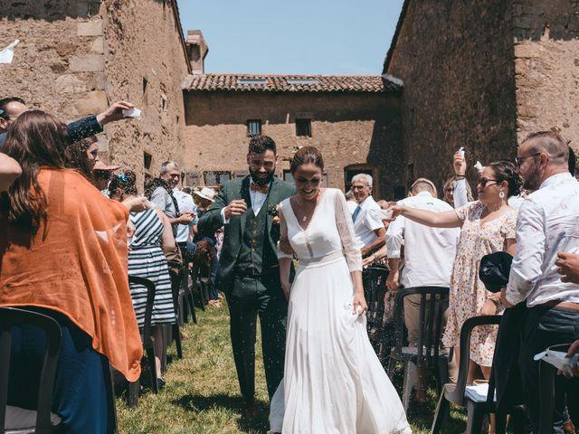 Le mariage de Loic et Cassandre à Véranne, Loire 7