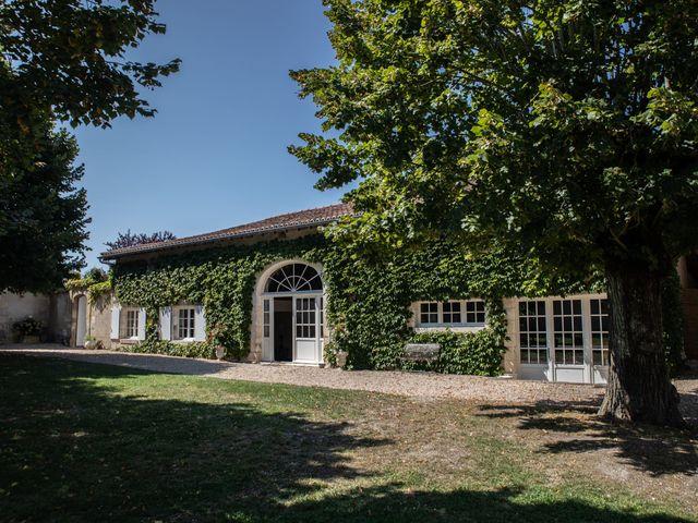 Le mariage de James et Claire à Allemans, Dordogne 1