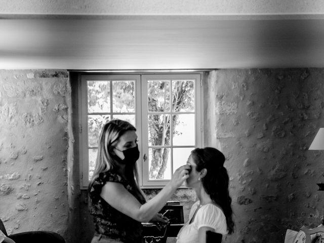 Le mariage de James et Claire à Allemans, Dordogne 7