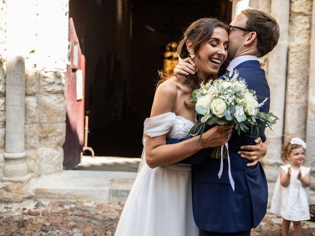 Le mariage de James et Claire à Allemans, Dordogne 29