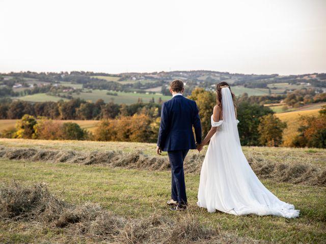 Le mariage de James et Claire à Allemans, Dordogne 43