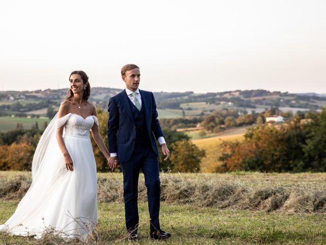 Le mariage de James et Claire à Allemans, Dordogne 44