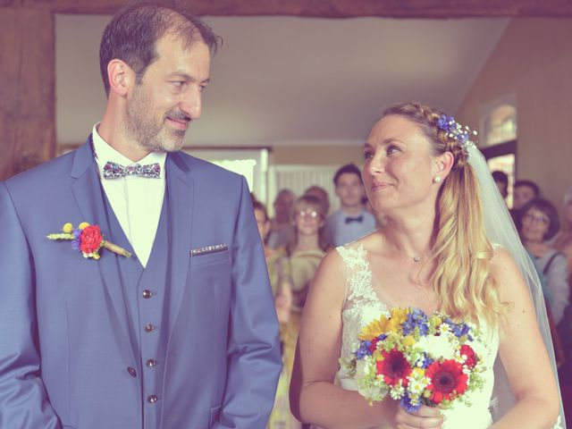 Le mariage de Cédric et Jessica à Ordan-Larroque, Gers 13