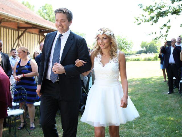 Le mariage de Cédric et Claire à Saint-Ouen-du-Mesnil-Oger, Calvados 10