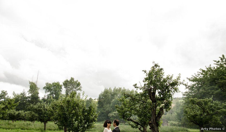 Le mariage de Florent et Vanessa à Tallende, Puy-de-Dôme