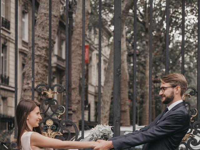 Le mariage de Karol et Laura à Paris, Paris 15