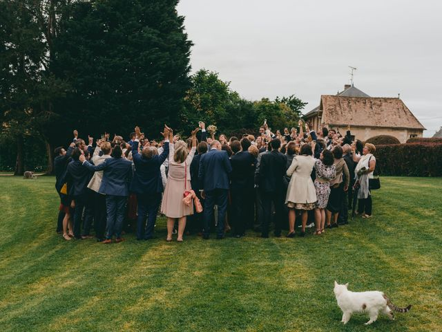 Le mariage de Geoffrey et Aude à Harquency, Eure 30
