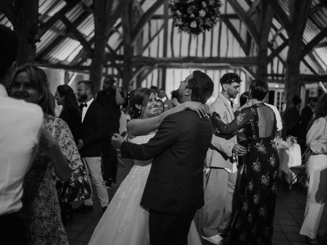 Le mariage de Geoffrey et Aude à Harquency, Eure 36