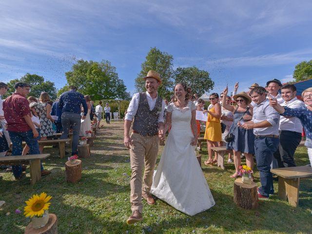 Le mariage de Joseph et Laure à Chomelix, Haute-Loire 3