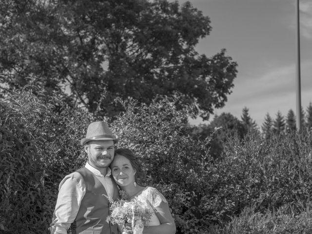 Le mariage de Joseph et Laure à Chomelix, Haute-Loire 9