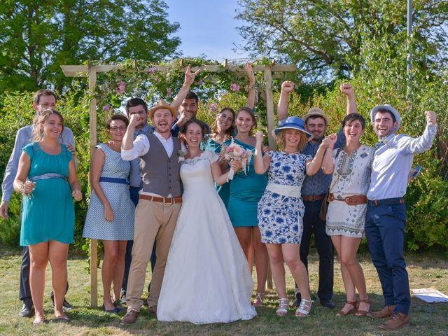 Le mariage de Joseph et Laure à Chomelix, Haute-Loire 12