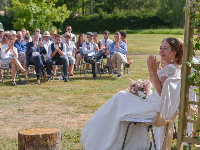 Le mariage de Joseph et Laure à Chomelix, Haute-Loire 16