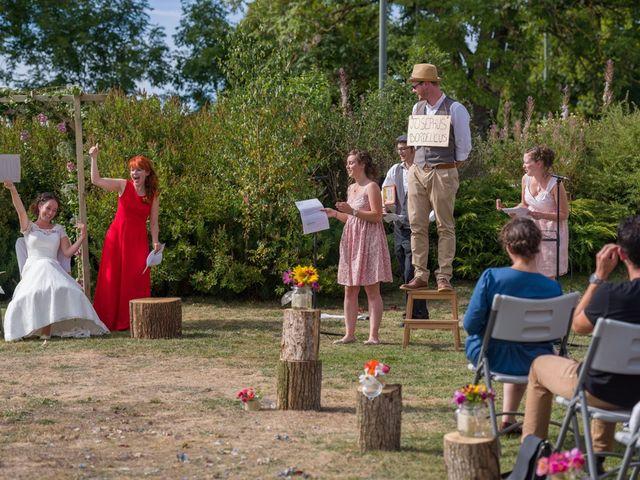 Le mariage de Joseph et Laure à Chomelix, Haute-Loire 18