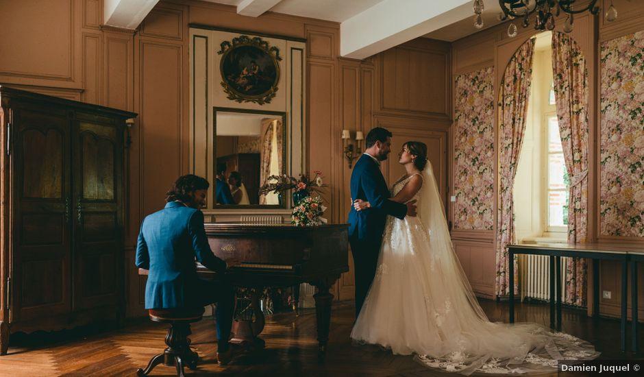 Le mariage de Geoffrey et Aude à Harquency, Eure