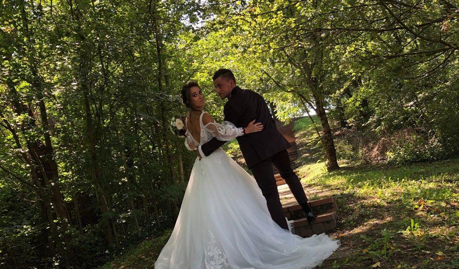 Le mariage de Yann et Élise à La Terrasse-sur-Dorlay, Loire
