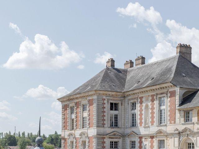 Le mariage de Christ et Marina à Vallery, Yonne 3