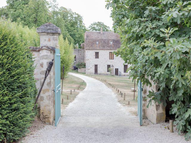 Le mariage de Christ et Marina à Vallery, Yonne 1