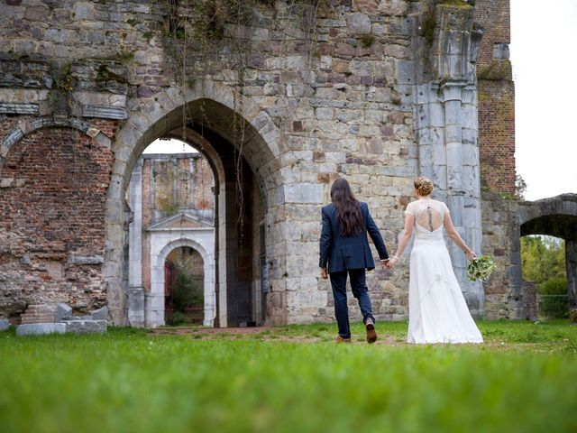 Le mariage de Davy et Emmanuelle à Assevent, Nord 55