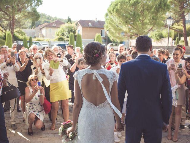 Le mariage de Romain et Sarah à Vaison-la-Romaine, Vaucluse 22