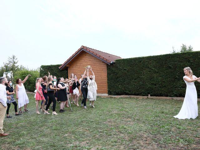 Le mariage de Jonathan et Amandine à Foussemagne, Territoire de Belfort 91