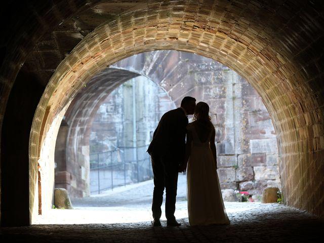 Le mariage de Jonathan et Amandine à Foussemagne, Territoire de Belfort 92