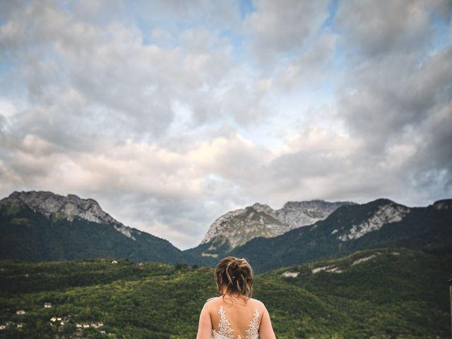 Le mariage de William et Sandra à Duingt, Haute-Savoie 16