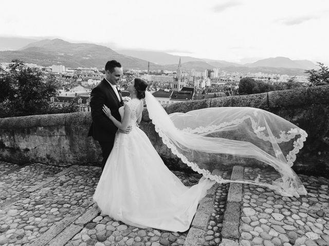 Le mariage de Alain et Melanie à Sassenage, Isère 110