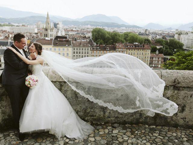 Le mariage de Melanie et Alain