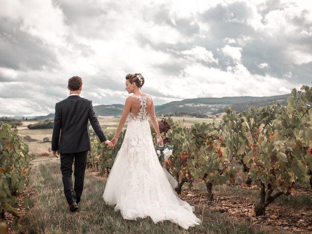 Le mariage de Amaury et Ségolène à Lacenas, Rhône 1