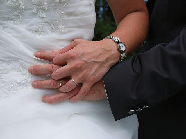 Le mariage de Fabrice et Guylène à Château-des-Prés, Jura 1