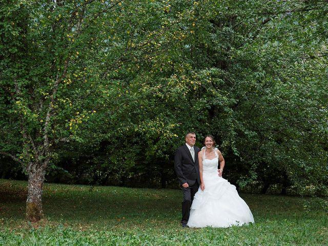 Le mariage de Fabrice et Guylène à Château-des-Prés, Jura 5