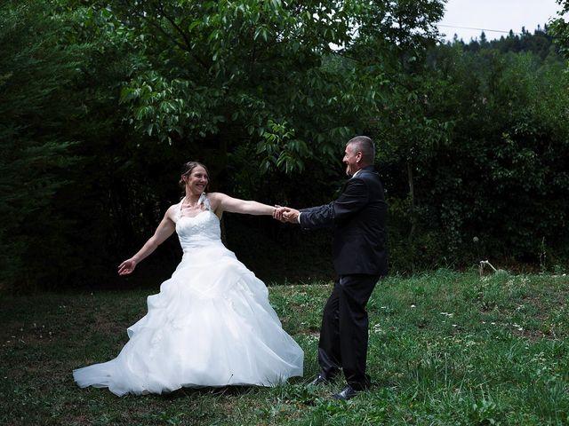 Le mariage de Fabrice et Guylène à Château-des-Prés, Jura 6