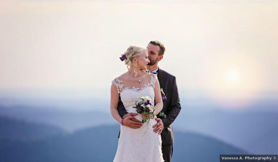 Le mariage de Kévin et Marylène à Breitenbach, Bas Rhin