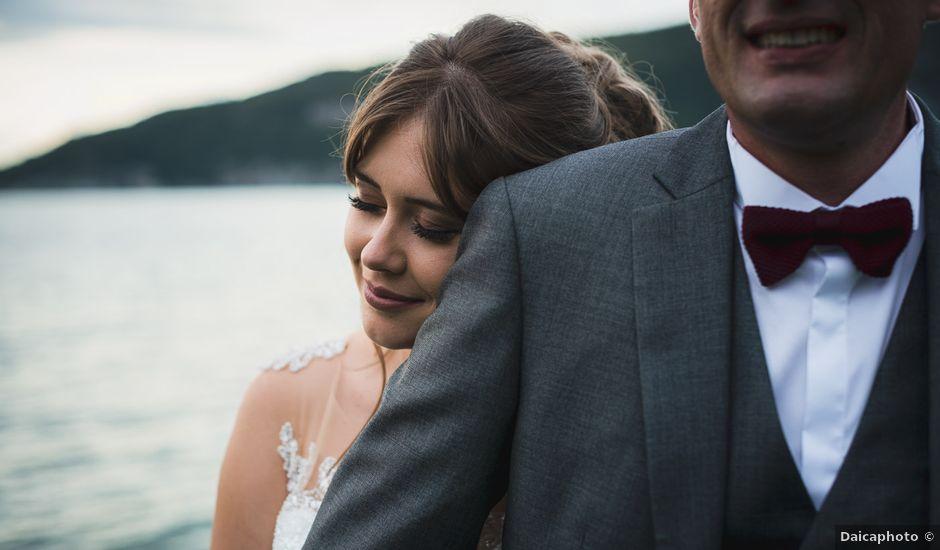 Le mariage de William et Sandra à Duingt, Haute-Savoie