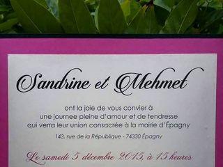 Le mariage de Sandrine et Mehmet 2
