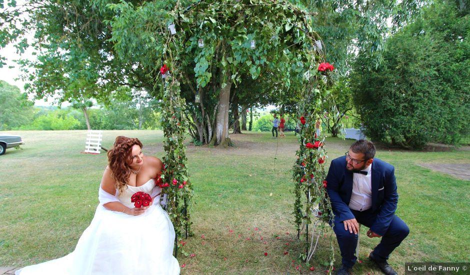 Le mariage de Pierre et Sarah à Lamothe-Montravel, Dordogne