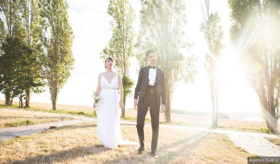 Le mariage de Abi et Guillaume à Auvers-sur-Oise, Val-d'Oise