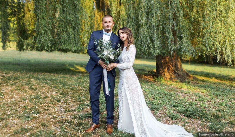 Le mariage de Guillaume et Sandra à Saint-Geneys-près-Saint-Paulien, Haute-Loire